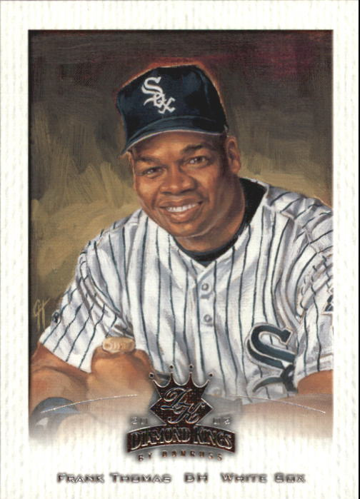 2002 Diamond Kings #66 Frank Thomas front image