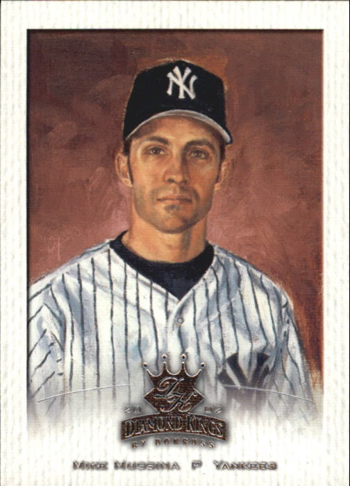 2002 Diamond Kings #69 Mike Mussina