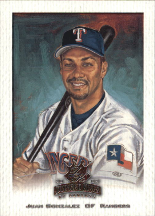 2002 Diamond Kings #71 Juan Gonzalez