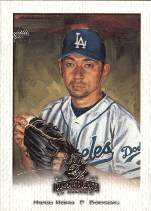 2002 Diamond Kings #72 Hideo Nomo