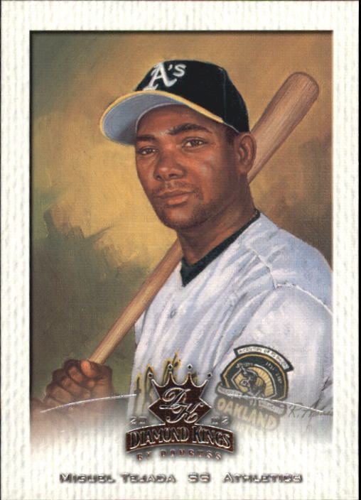 2002 Diamond Kings #73 Miguel Tejada