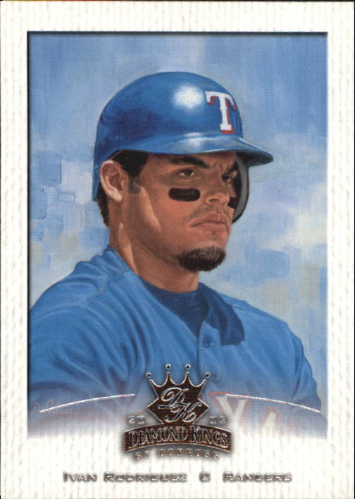 2002 Diamond Kings #76 Ivan Rodriguez