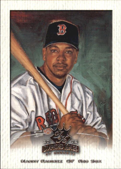 2002 Diamond Kings #83 Manny Ramirez