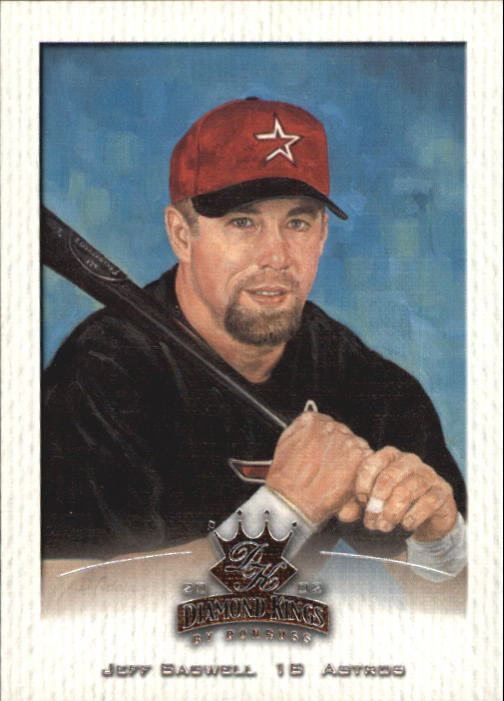 2002 Diamond Kings #84 Jeff Bagwell