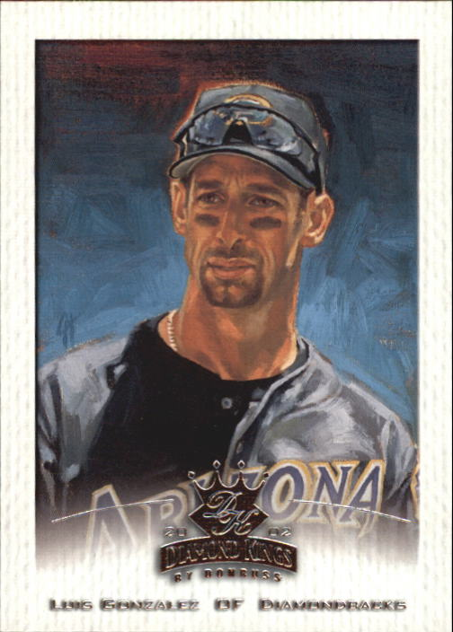 2002 Diamond Kings #87 Luis Gonzalez