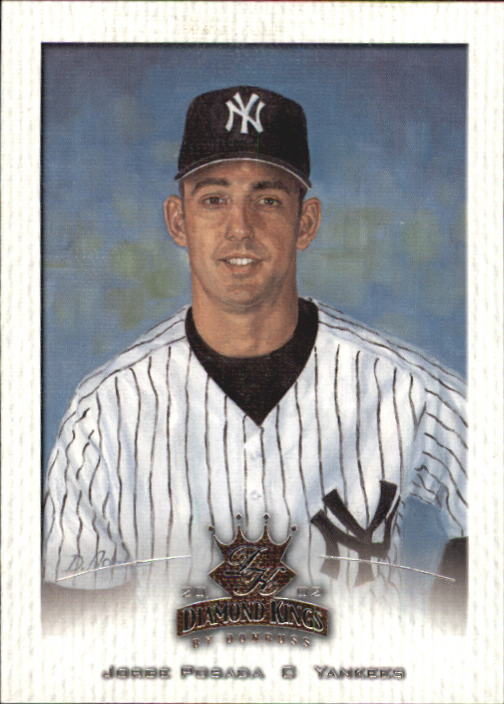 2002 Diamond Kings #92 Jorge Posada