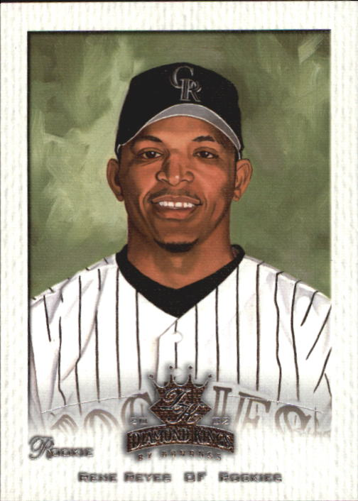 2002 Diamond Kings #155 Rene Reyes RC