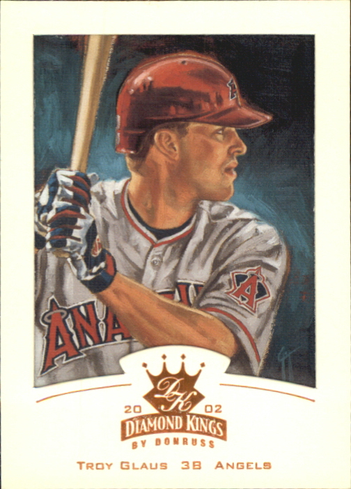 2002 Diamond Kings Bronze Foil #5 Troy Glaus