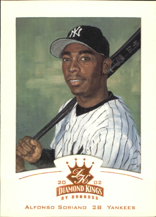 2002 Diamond Kings Bronze Foil #10 Alfonso Soriano