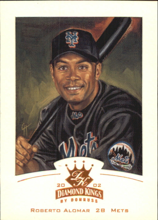 2002 Diamond Kings Bronze Foil #31 Roberto Alomar