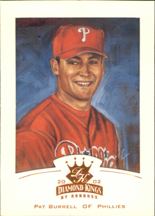 2002 Diamond Kings Bronze Foil #55 Pat Burrell