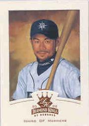 2002 Diamond Kings Bronze Foil #74 Ichiro Suzuki