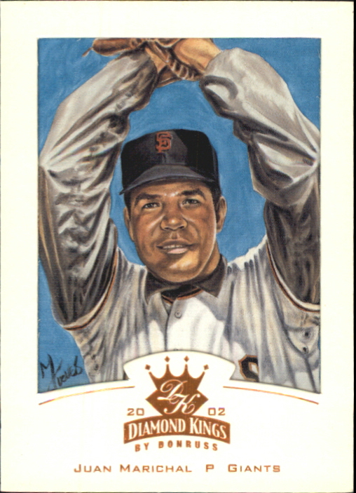 2002 Diamond Kings Bronze Foil #131 Juan Marichal
