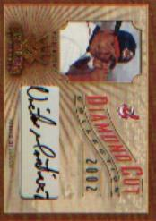 2002 Diamond Kings Diamond Cut Collection #DC3 Victor Martinez AU/500