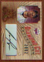 2002 Diamond Kings Diamond Cut Collection #DC6 Joe Mays AU/500