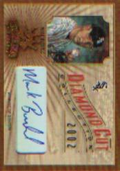 2002 Diamond Kings Diamond Cut Collection #DC11 Mark Buehrle AU/500