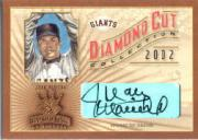 2002 Diamond Kings Diamond Cut Collection #DC23 Juan Marichal AU/500