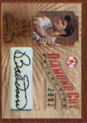 2002 Diamond Kings Diamond Cut Collection #DC24 Bobby Doerr AU/500