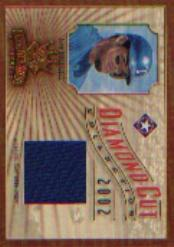 2002 Diamond Kings Diamond Cut Collection #DC35 Ivan Rodriguez Jsy/500