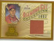 2002 Diamond Kings Diamond Cut Collection #DC38 Lance Berkman Jsy/400
