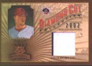 2002 Diamond Kings Diamond Cut Collection #DC40 Darin Erstad Jsy/400