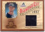2002 Diamond Kings Diamond Cut Collection #DC48 Luis Gonzalez Jsy/500