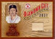 2002 Diamond Kings Diamond Cut Collection #DC86 Carlton Fisk Bat/500
