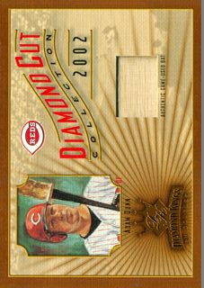 2002 Diamond Kings Diamond Cut Collection #DC91 Adam Dunn Bat/375