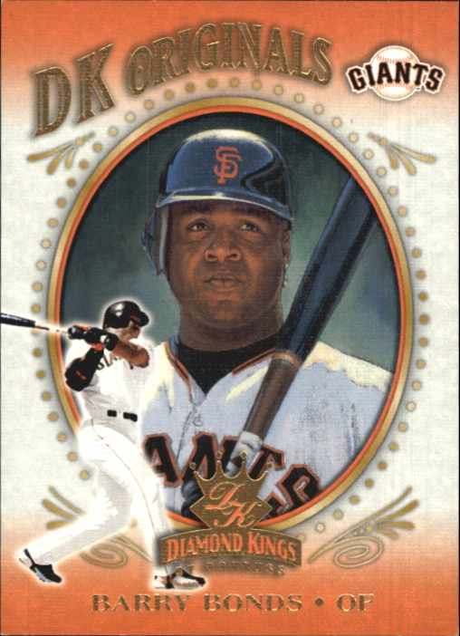 2002 Diamond Kings DK Originals #DK13 Barry Bonds