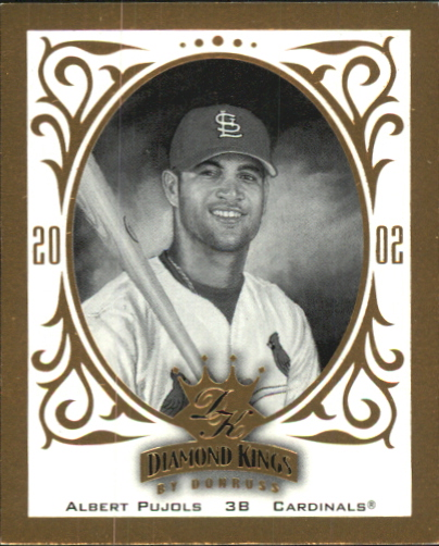 2002 Diamond Kings T204 #RC15 Albert Pujols