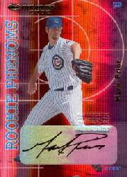 2002 Donruss Rookies Phenoms Autographs #5 Mark Prior/100