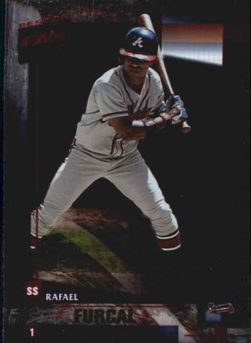 2002 Donruss Best of Fan Club #7 Rafael Furcal
