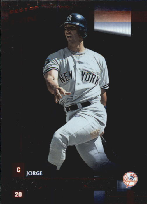 2002 Donruss Best of Fan Club #23 Jorge Posada
