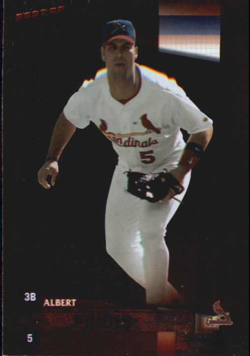 2002 Donruss Best of Fan Club #40 Albert Pujols