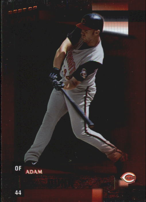 2002 Donruss Best of Fan Club #74 Adam Dunn