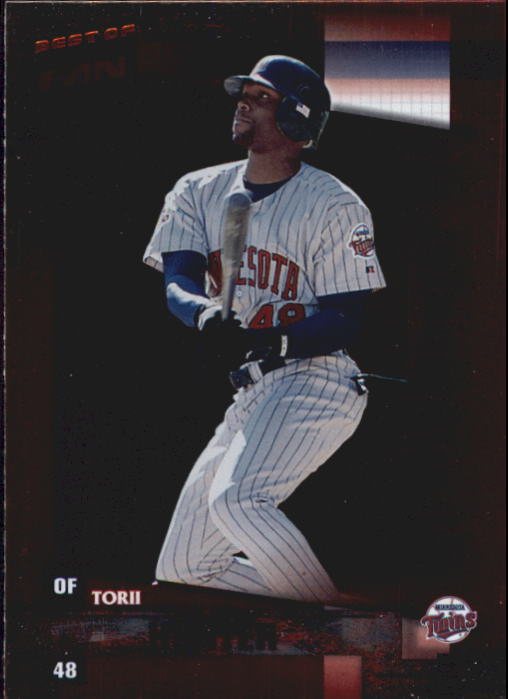 2002 Donruss Best of Fan Club #119 Torii Hunter