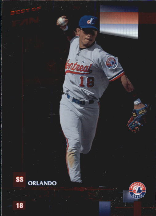 2002 Donruss Best of Fan Club #140 Orlando Cabrera
