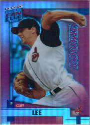 2002 Donruss Best of Fan Club #U206 Cliff Lee RC