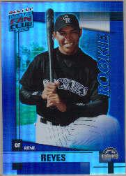 2002 Donruss Best of Fan Club #U223 Rene Reyes RC