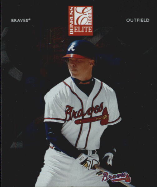 2002 Donruss Elite #12 Chipper Jones
