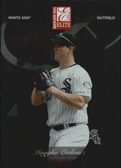 2002 Donruss Elite #16 Magglio Ordonez