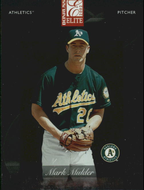 2002 Donruss Elite #18 Mark Mulder