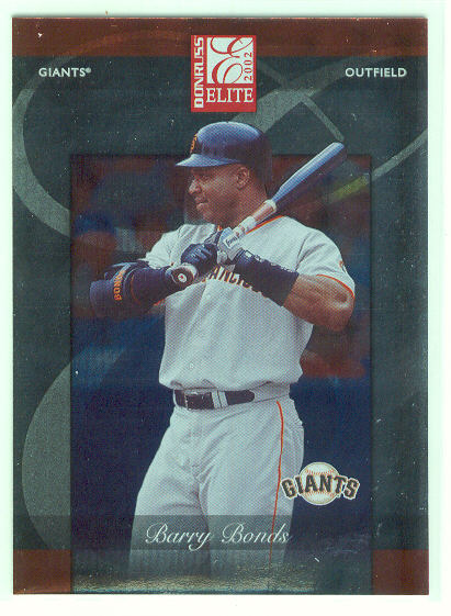 2002 Donruss Elite #25 Barry Bonds