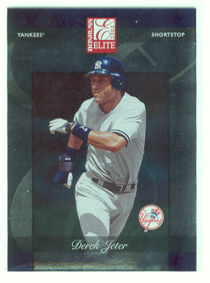 2002 Donruss Elite #47 Derek Jeter