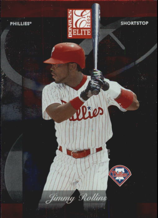 2002 Donruss Elite #55 Jimmy Rollins