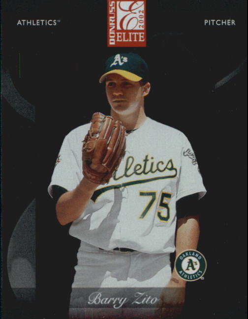 2002 Donruss Elite #66 Barry Zito