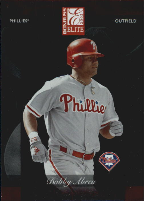 2002 Donruss Elite #70 Bobby Abreu