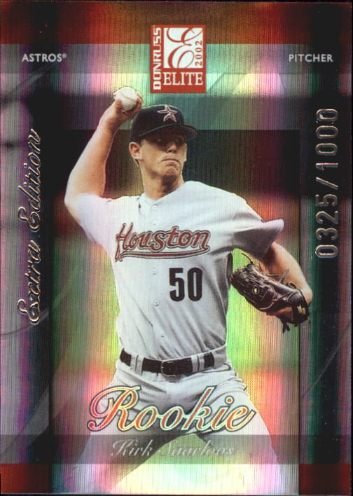 2002 Donruss Elite #206 Kirk Saarloos/900* RC