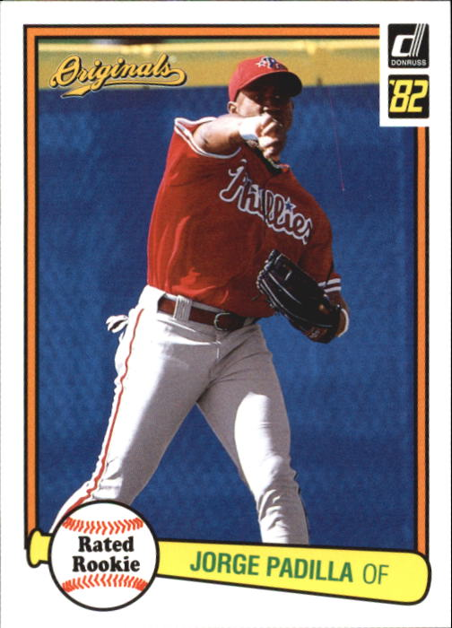 2002 Donruss Originals #7 Jorge Padilla 82 RR RC