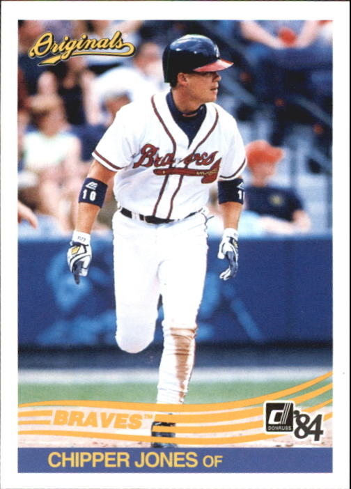 2002 Donruss Originals #167 Chipper Jones 84